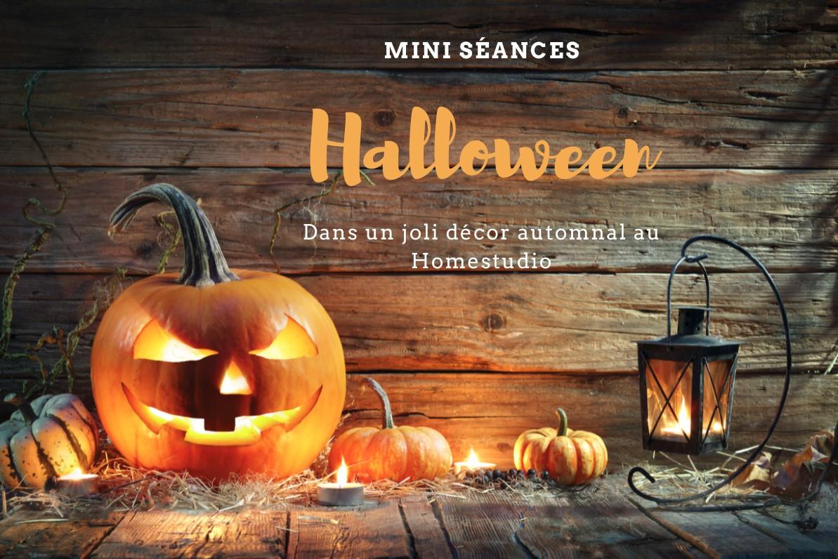 Mini séances Halloween